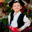 Little boy in the suit of pirate — Stock Photo #15721055