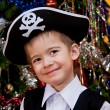 Little boy in the suit of pirate — Stock Photo #15721509