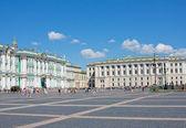 Buildings of the Hermitage, Saint Petersburg, Russia — 图库照片