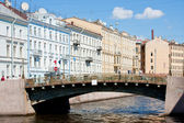 Cityscape, the city of St. Petersburg — Stock Photo