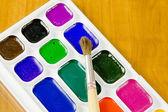 School belonging, moist colours — Stock Photo