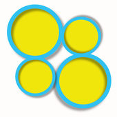 Beautiful bright abstract web design — Stock Photo