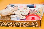 Sewing belonging — Stock Photo