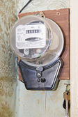 Meters on electricity — Stock Photo