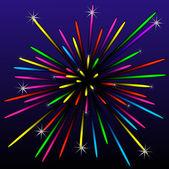 Festive bright beautiful banger — Stock Photo