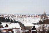 El paisaje rural de invierno — Foto de Stock