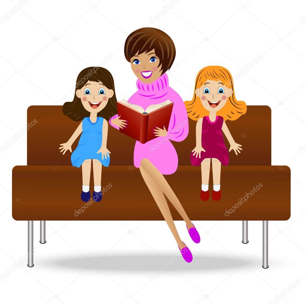 Resultado de imagem para uma mae e as suas duas filhas