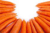 Carrot circle — Stock Photo