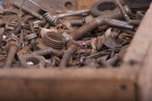 Rusty parts — Stock Photo
