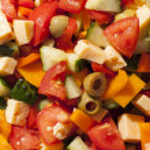 Greec salad — Stock Photo