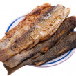 Roast fish - Stock Photo