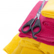 Colorful cloths — Stock Photo