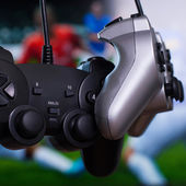 Two gamepads — Stockfoto