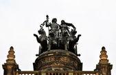Sculpture  in Dresden — Stock Photo