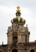 Zwinger Palace in Dresden. — Stock Photo