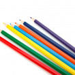Colouring crayon pencils bunch — Stock Photo #12112212