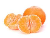 Fruta mandarina o naranja mandarina — Foto de Stock