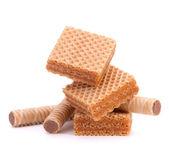 Obleas o waffles de nido de abeja — Foto de Stock