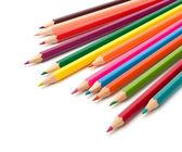 Colouring crayon pencils — Stock Photo
