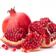 Ripe pomegranate fruit — Stock Photo #12729556