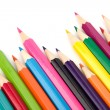 Colouring crayon pencils — Stock Photo #12729918