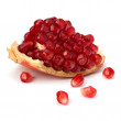 Ripe pomegranate piece — Stock Photo #12731214