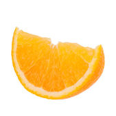 Sliced orange fruit segment — Stock Photo
