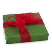 Festliche geschenk-box — Stockfoto