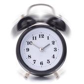 Svart väckarklocka — Stockfoto