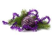 Christmas decoration isolated on white background — Stockfoto