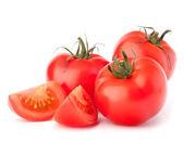 куча помидор овощи — Стоковое фото