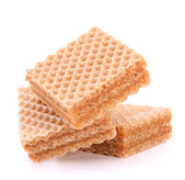 Discos (wafers) ou waffles de favo de mel — Foto Stock
