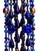 Sfondo di perline colorate — Foto Stock