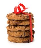 Festlich verpackt Schokolade Gebäck Kekse — Stockfoto