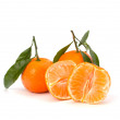 Ripe tasty tangerines — 图库照片