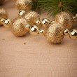 Christmas festive background with copy space — Stock Photo #13729903