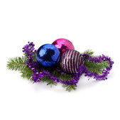 Christmas ball decoration — Stock Photo