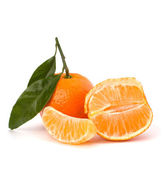 Ripe tasty tangerines — Stock Photo