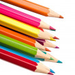 Colouring crayon pencils — Stock Photo #13730888