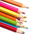 Stock Photo: Colouring crayon pencils