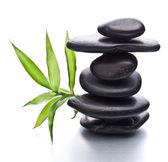 Zen pebbles balance. Spa and healthcare concept. — Stock Photo