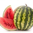 Stock Photo: Sliced ripe watermelon