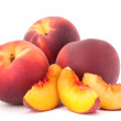 Ripe peach fruit — Stock Photo #13995204