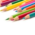 Colouring crayon pencils — Stock Photo #13995645