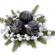 Christmas ball decoration  — Stock Photo