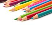 着色クレヨン鉛筆 — ストック写真