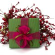 Stock Photo: Festive gift box