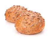 Two sandwich bun with sunflower seeds — Stock Photo