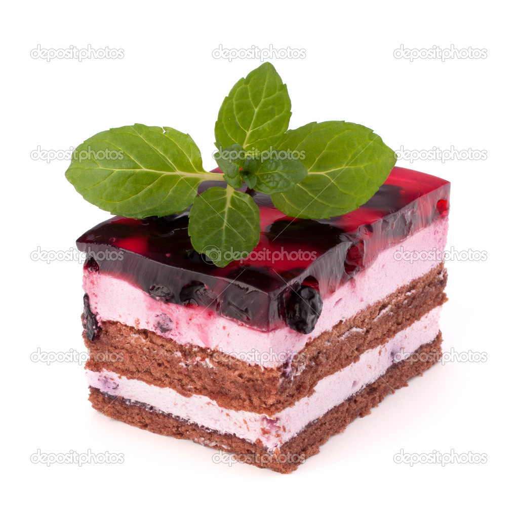 Delicious cake piece   Stock Photo ? natika #14623775