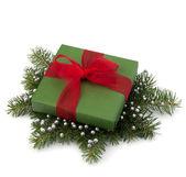 Contenitore di regalo di natale — Foto Stock